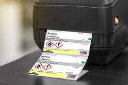 Etikettenservice mit D-GISS