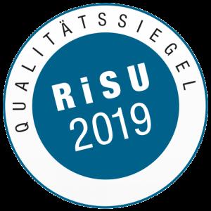 Qualitätssiegel RiSU 2019